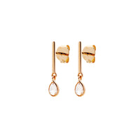Boucles d'oreilles Femme POLKI, Or 18k, Diamants