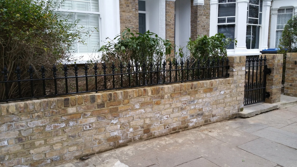 Entrance Gate and Railings for a Townhouse in Queens Park, North London