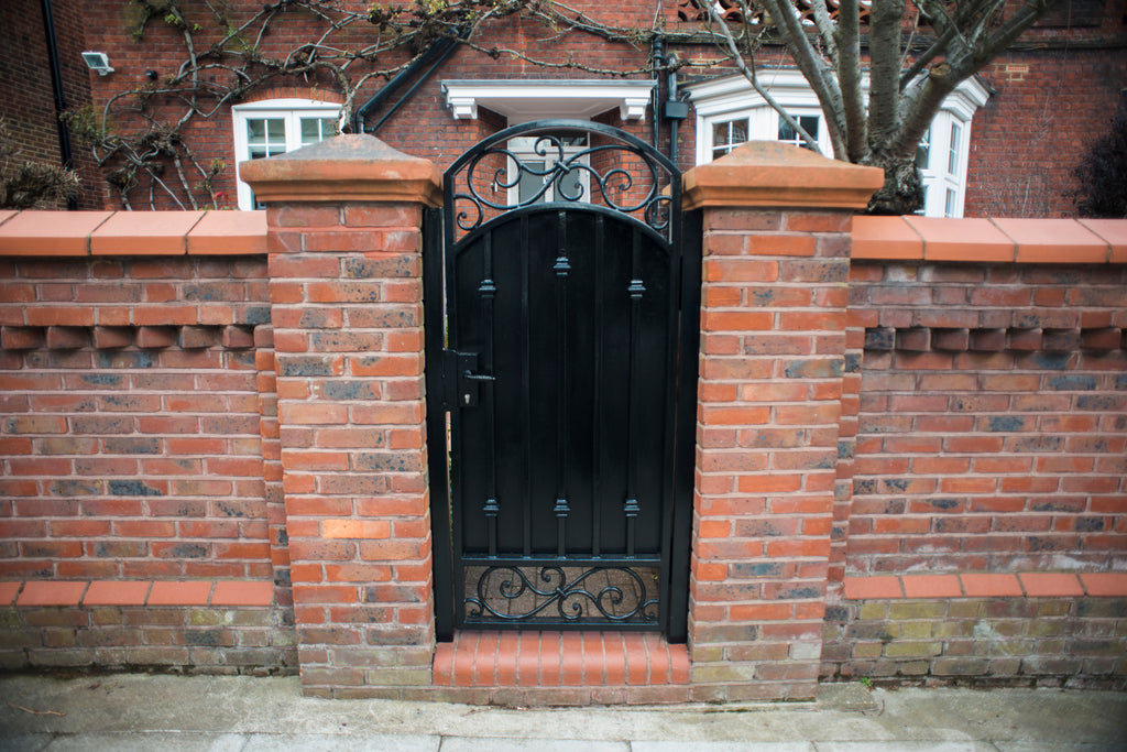 Beautiful Entrance Gate for Magnificent Belsize Park Residence