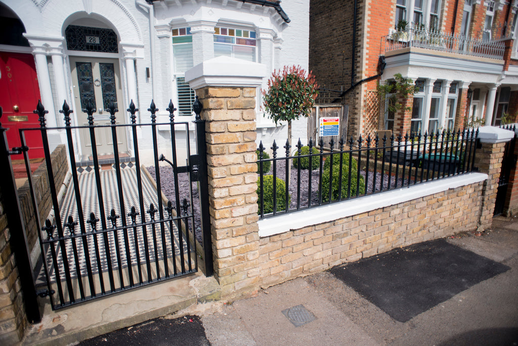 Entrance Gate for our Client's Residence in Finsbury Park, North London