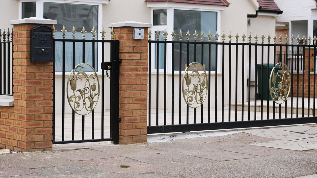 Bespoke Metal Gate And Sliding Gate In North West London