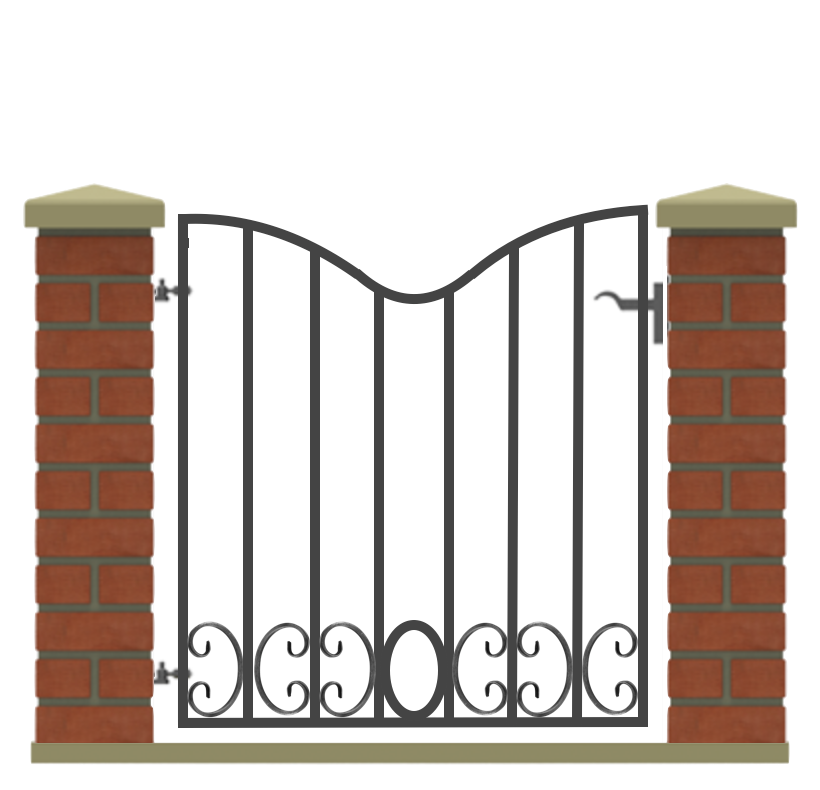 Blackpool Pedestrian Gate