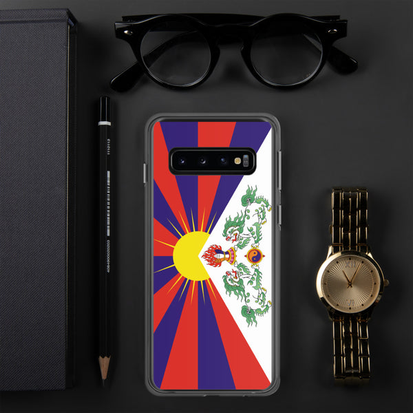 བོད་ 西藏 雪山獅子旗 Tibetan Snow Lion (New) Samsung Case