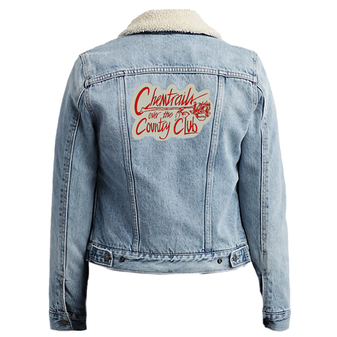 Chemtrails Over the Country Club Denim Jacket