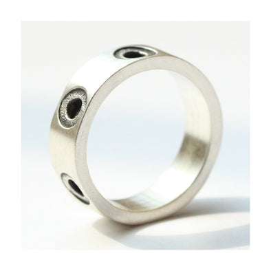 Matt Silver Ring for karlats