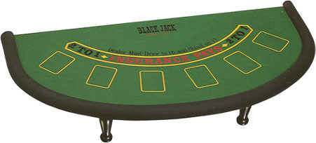 "Blackjack Tablette – 37"" Table Top Blackjack Table"