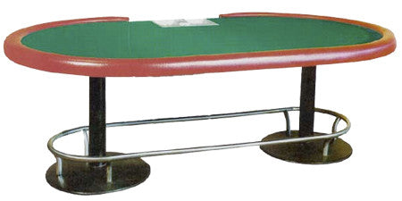 "Classic Stud Poker Tables (84"" or 96"" Long) & Texas Hold'Em Poker Tables (108"" Long)"