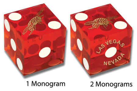 Custom Casino-Quality Dice – Just Like the Dice Used in Las Vegas