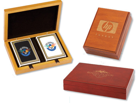 Branded Corporate Playing Card Boxes