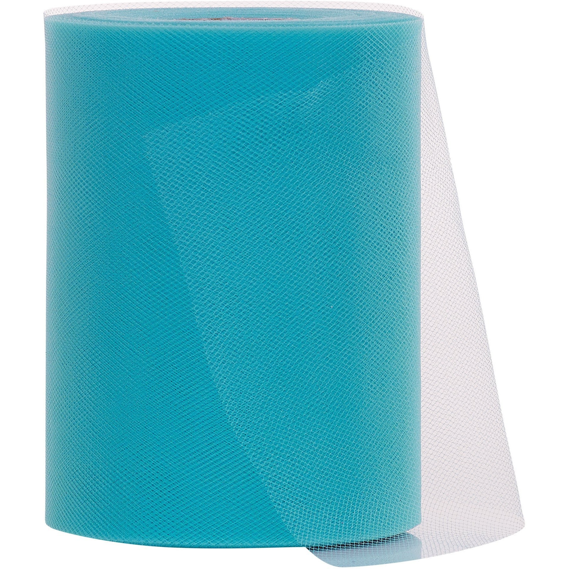 Turquoise Tulle Fabric Roll - 100 Yards