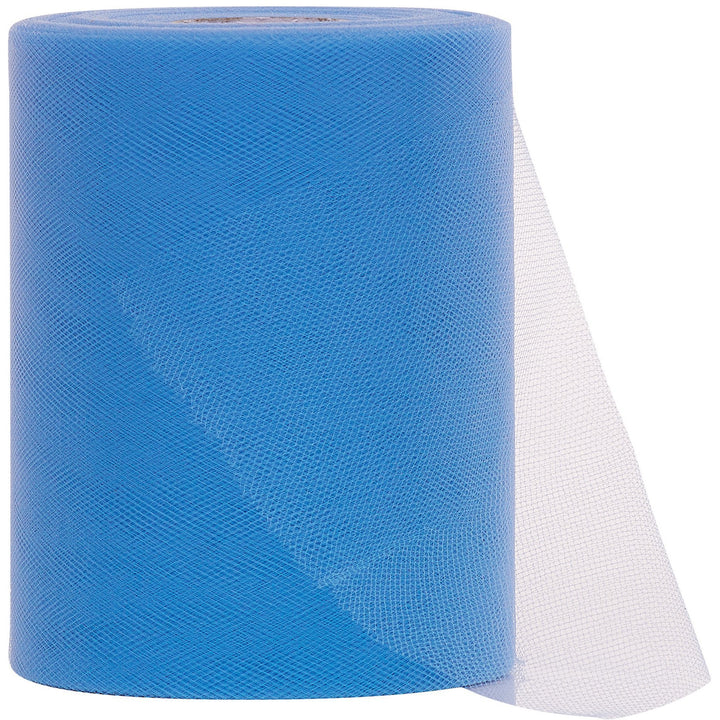 Light (Baby) Blue Tulle Fabric Roll - 100 Yards