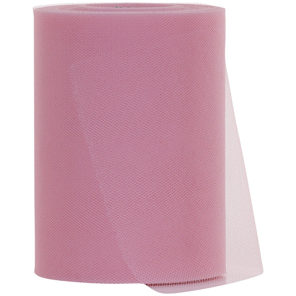 Baby Pink Tulle Fabric Roll - 100 Yards