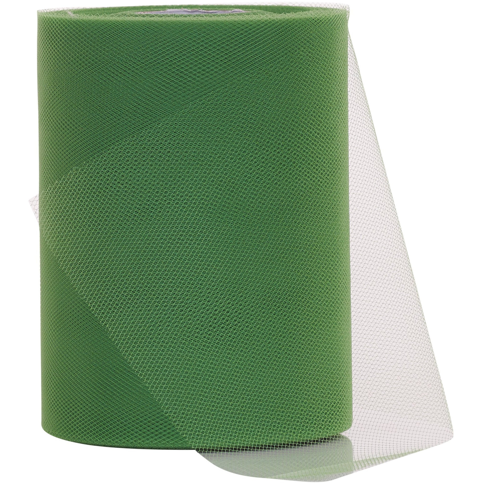 Emerald Green Tulle Fabric Roll - 100 Yards