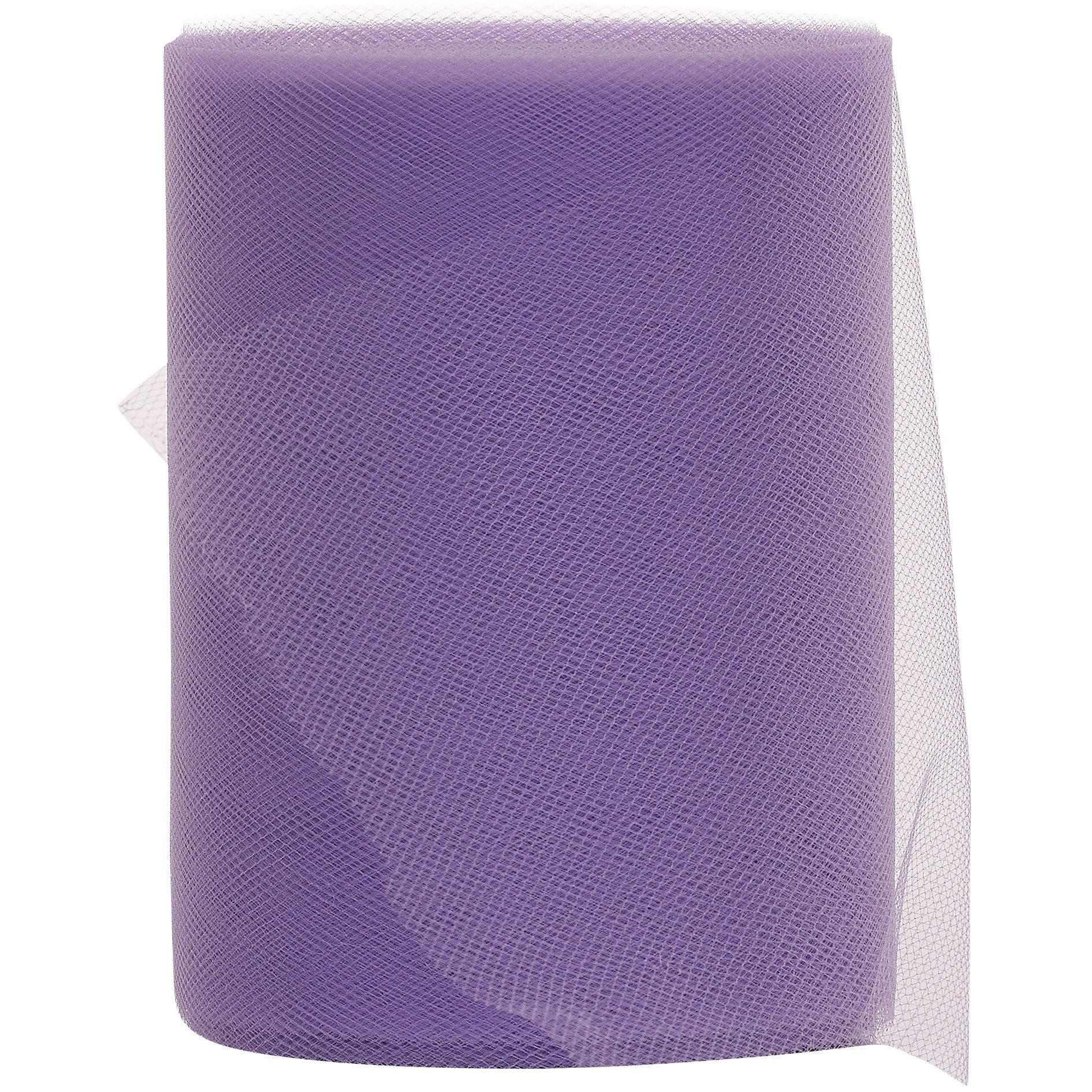 Light Purple (Lavender) Tulle Fabric Roll - 100 Yards