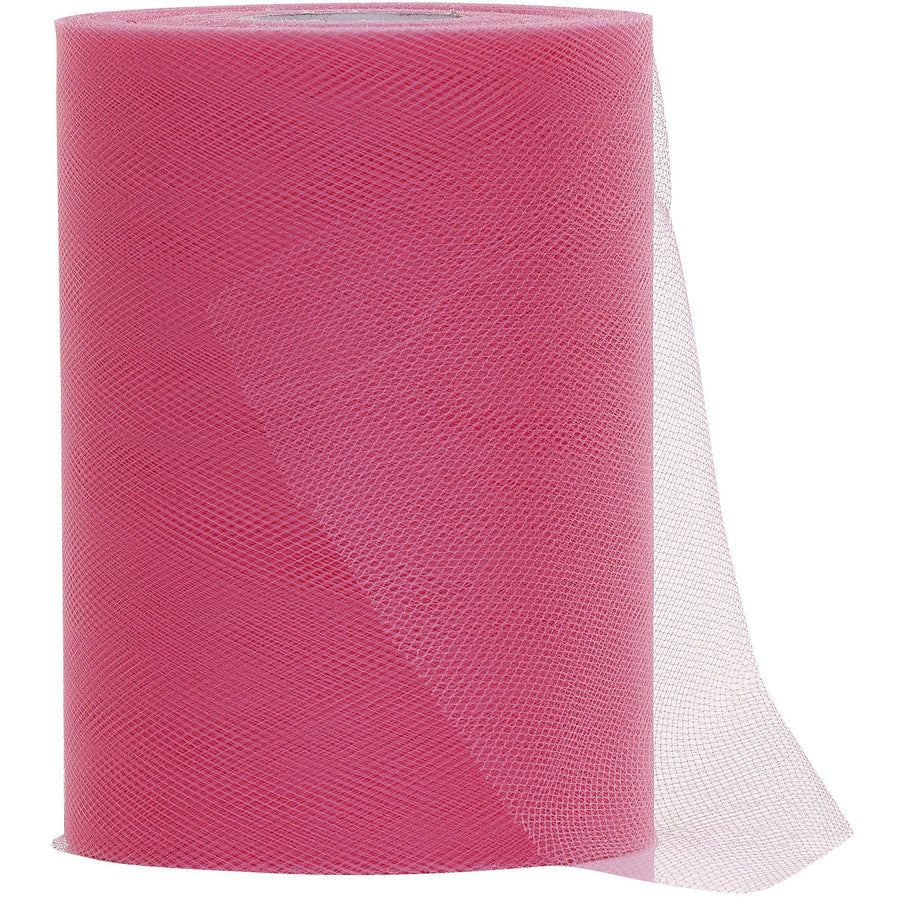 Pink Tulle Fabric Roll - 100 Yards