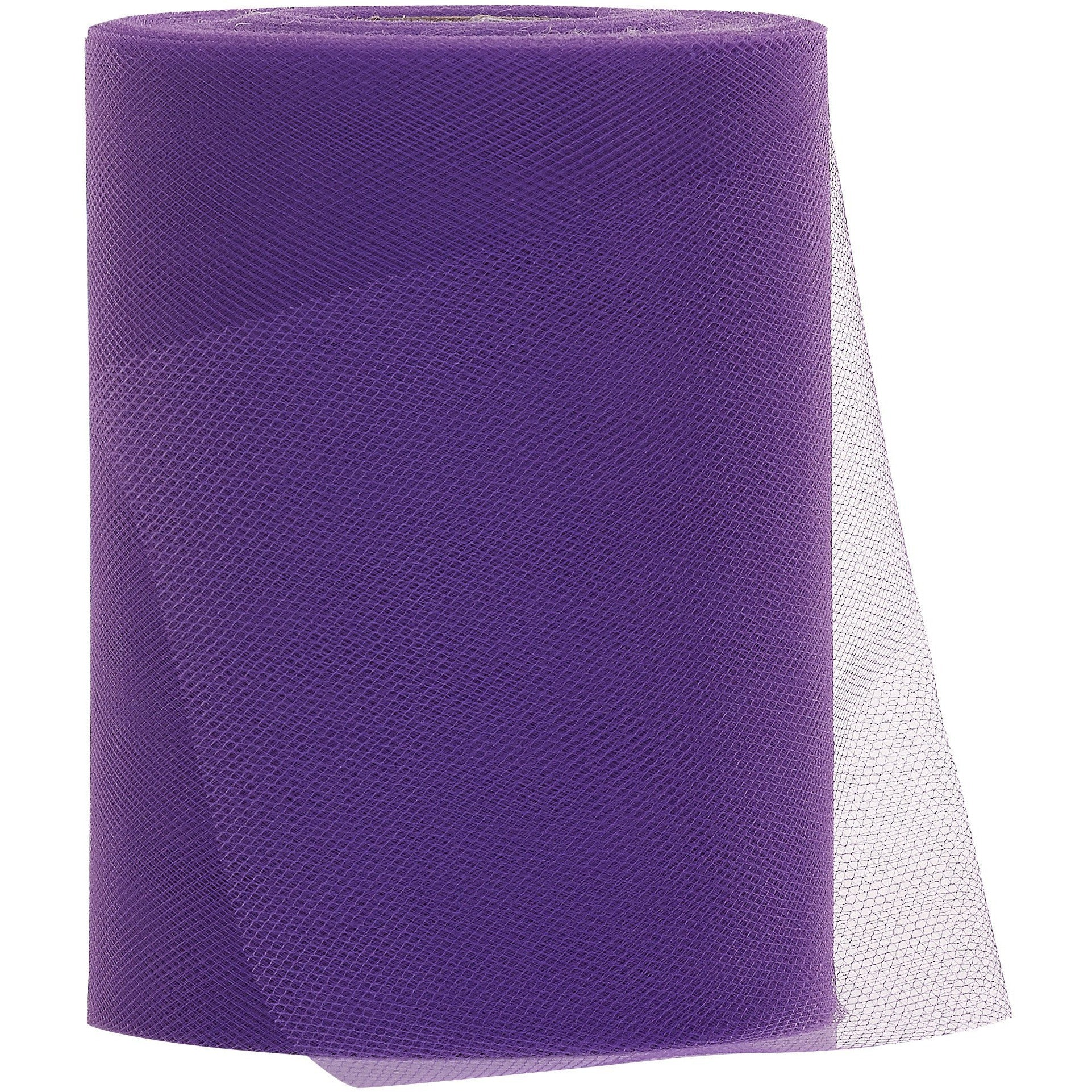 Purple Tulle Fabric Roll - 100 Yards