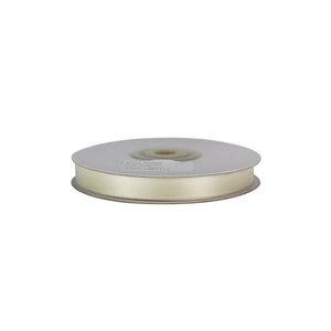 Ivory - 10mm x 25m - Satin Ribbon - Double Sided