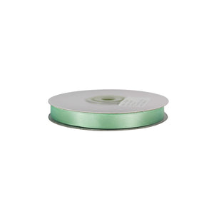 Mint Green - 10mm x 25m - Satin Ribbon - Double Sided