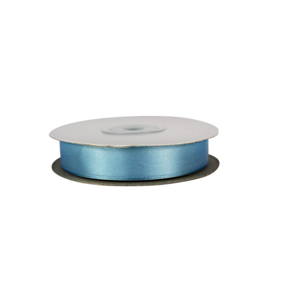 Baby Blue - 15mm x 25m - Satin Ribbon - Double Sided