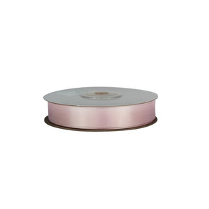 Pale Pink - 15mm x 25m - Satin Ribbon - Double Sided