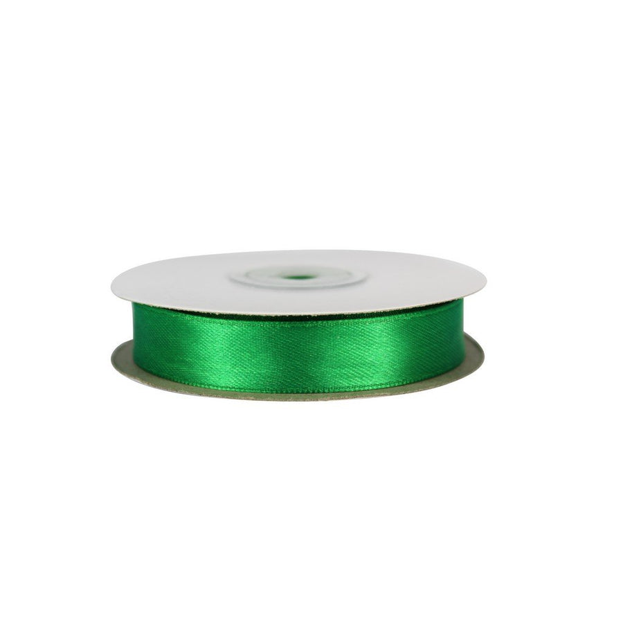 Emerlad Green - 15mm x 25m - Satin Ribbon - Double Sided