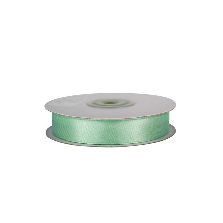 Mint Green - 15mm x 25m - Satin Ribbon - Double Sided