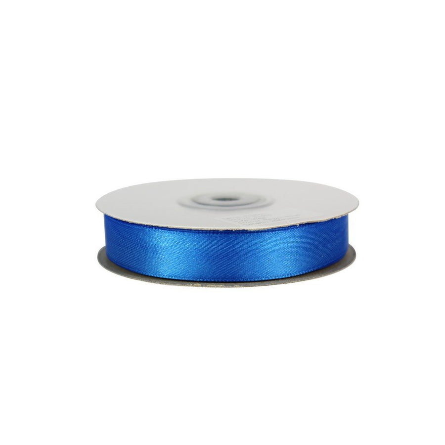 Royal Blue - 15mm x 25m - Satin Ribbon - Double Sided