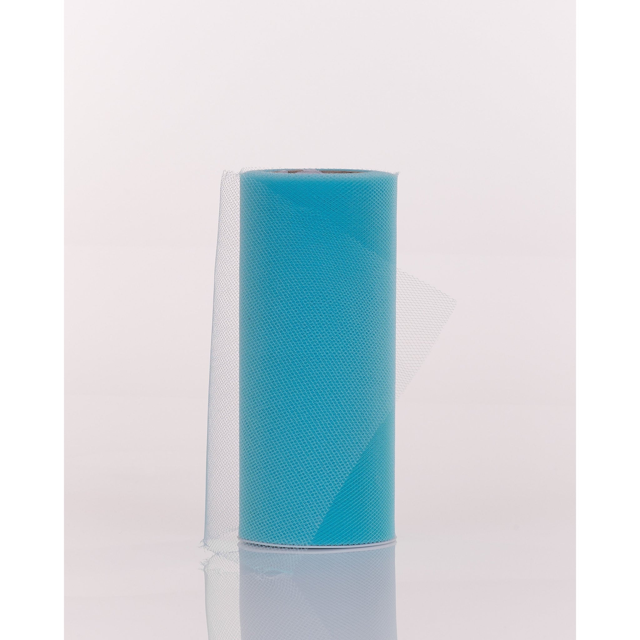 Turquoise Tulle Fabric Roll - 25 Yards