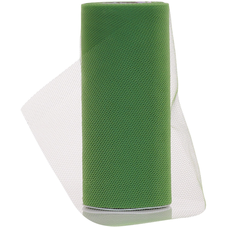Emerald Green Tulle Fabric Roll - 25 Yards