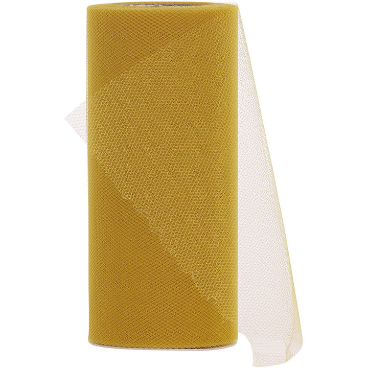 Gold Tulle Fabric Roll - 25 Yards