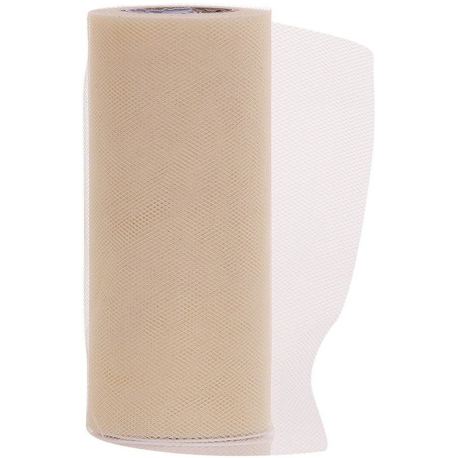 Ivory Tulle Fabric Roll - 25 Yards
