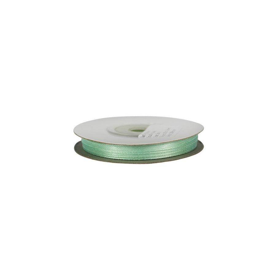 Mint Green - 3mm x 25m - Satin Ribbon - Double Sided