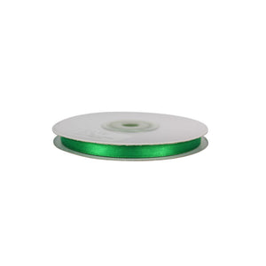 Emerlad Green - 6mm x 25m - Satin Ribbon - Double Sided