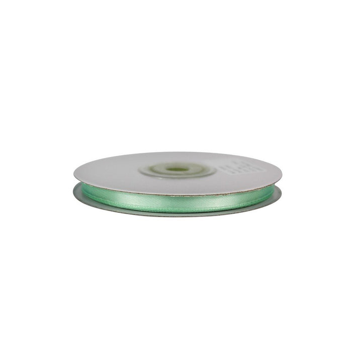 Mint Green - 6mm x 25m - Satin Ribbon - Double Sided