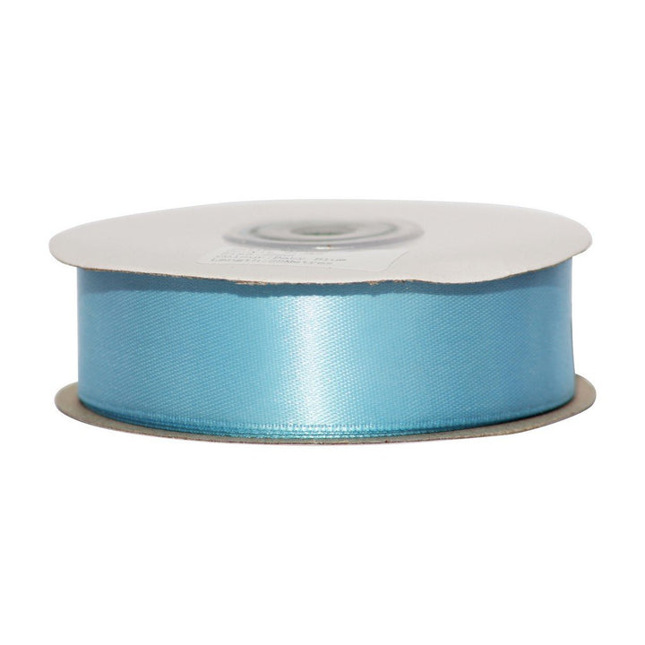 Baby Blue - 25mm x 25m - Satin Ribbon - Double Sided
