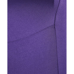 Purple Lycra Chair Cover