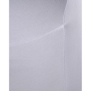 White Chair Cover - Flat Fronted