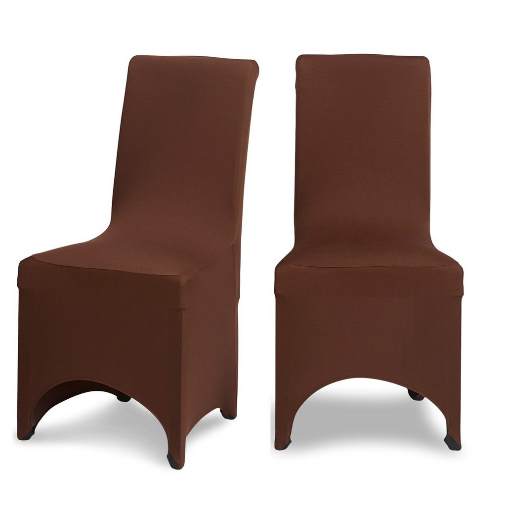 Chocolate Lycra Chair Cover