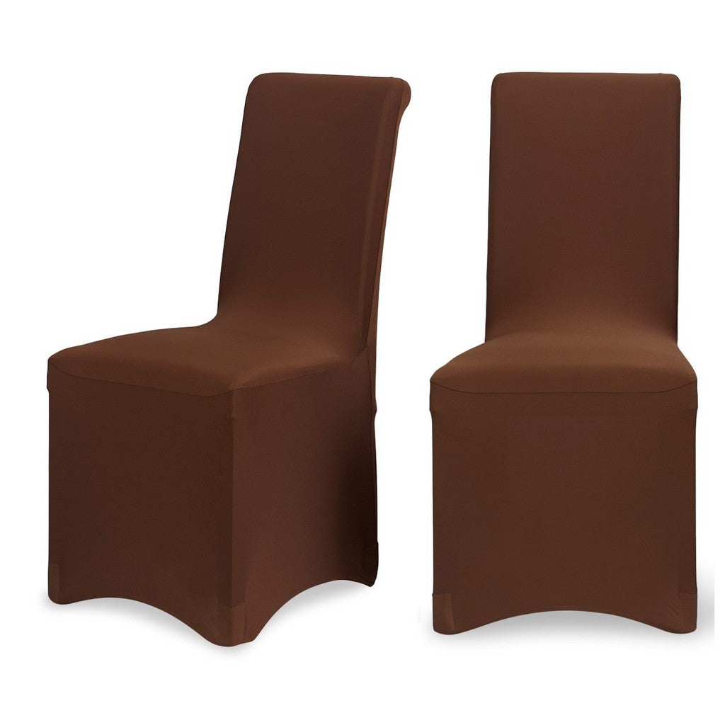 Chocolate Lycra Chair Cover. Previous