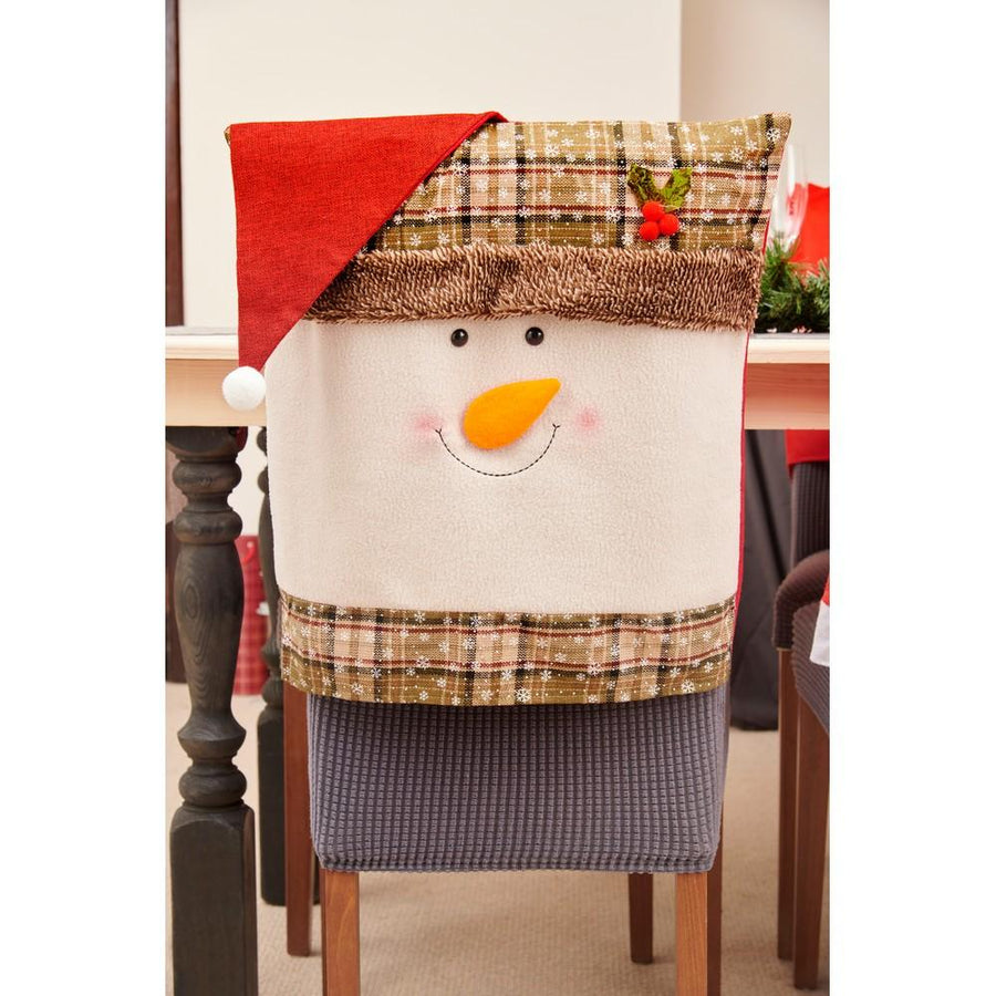 Christmas Snowman Chair Hood