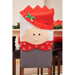 Smiling Face Christmas Chair Hood