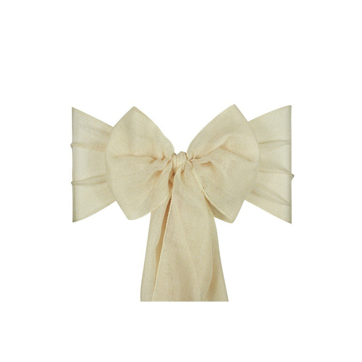 Linen Sashes 10pcs  - Cream