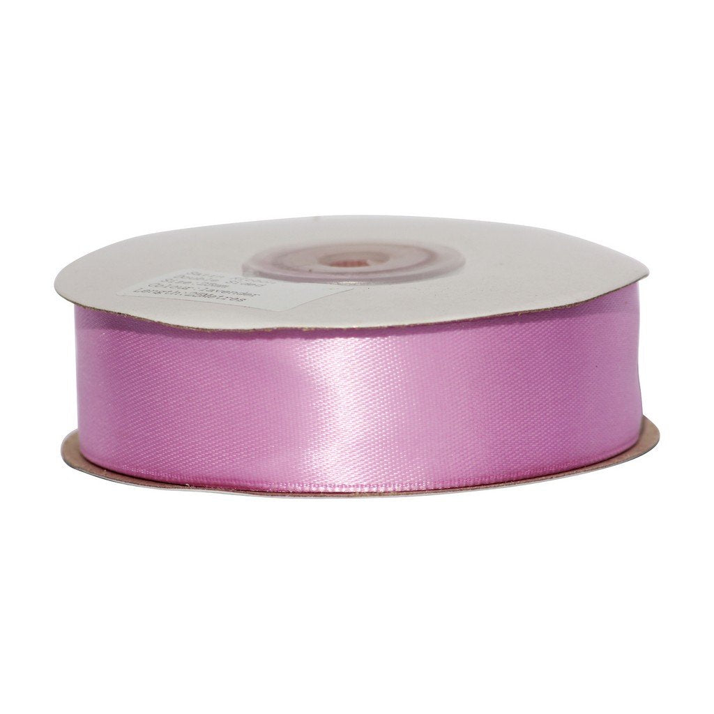 lavender - 25mm x 25m - Satin Ribbon - Double Sided