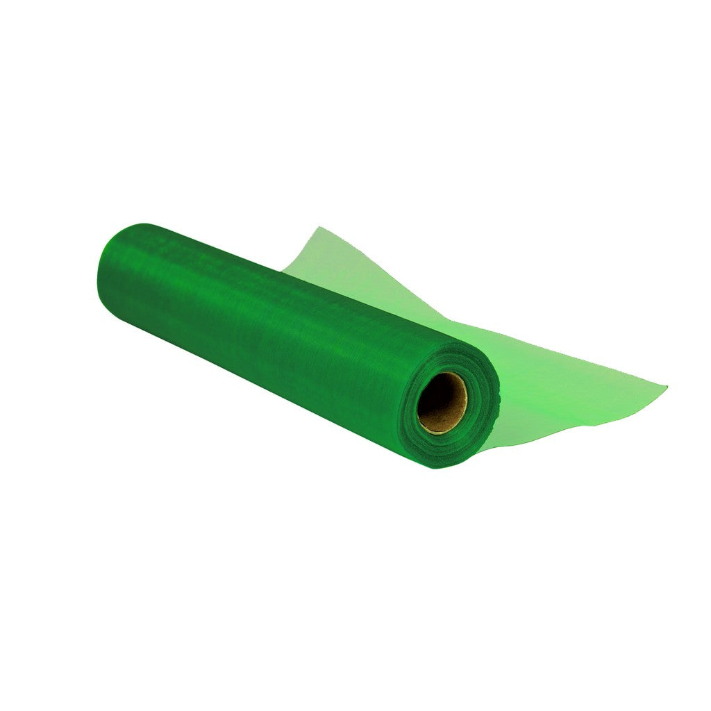Emerald Green Organza Roll (25m x 29cm)