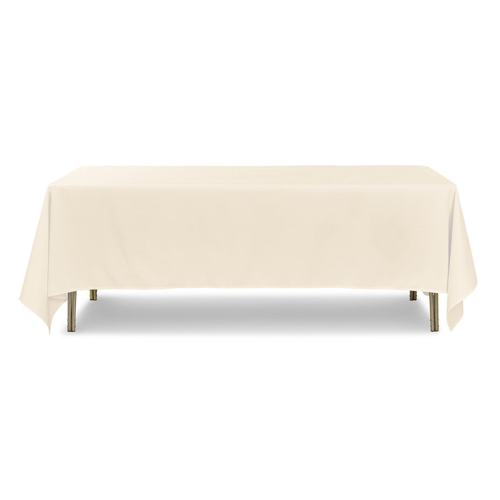 "Tablecloth - Rectangle - 70"" x 108"" - Ivory"