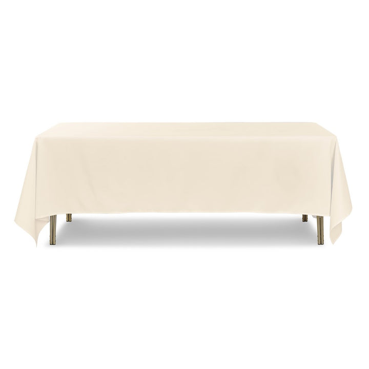 "Tablecloth - Rectangle - 70"" x 144"" - Ivory"
