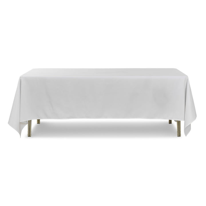 "Tablecloth - Rectangle - 90"" x 132"" - White"
