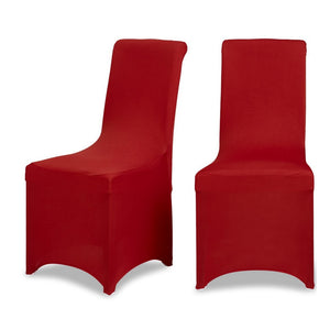 Red Lycra Chair Cover