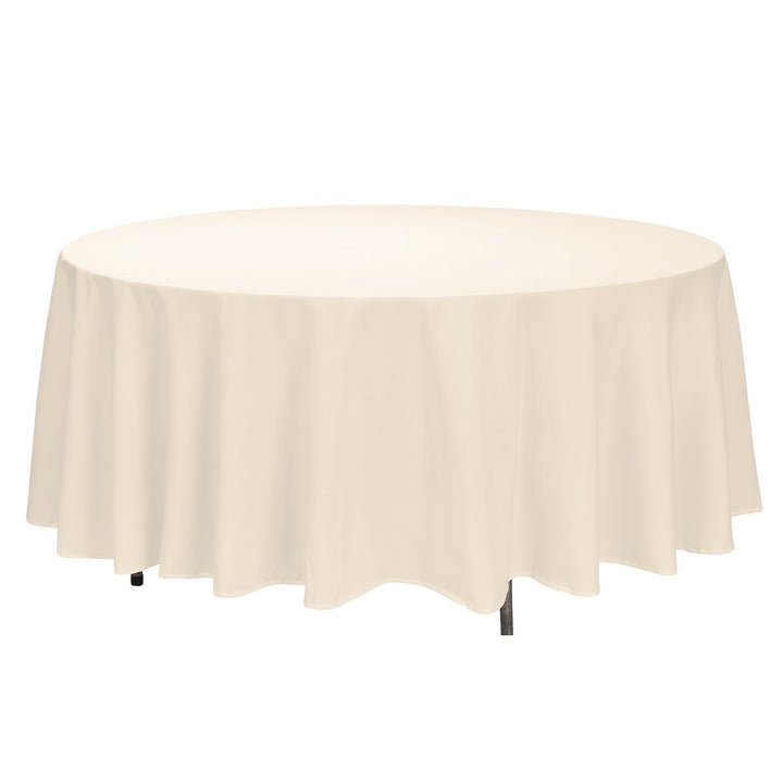 "Tablecloth - Round - 108"" - Ivory"