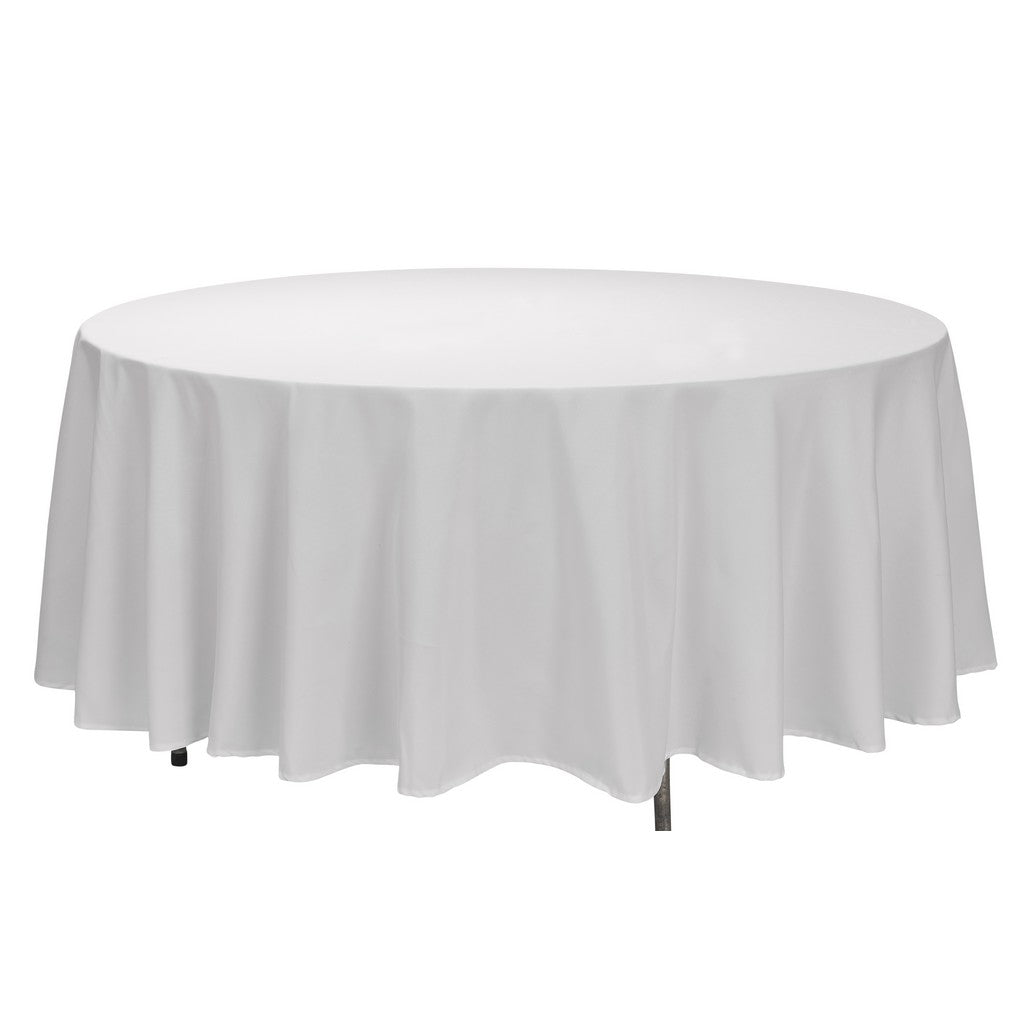 "Tablecloth - Round - 108"" - White"